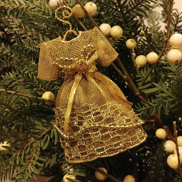 Victorian dress ornament